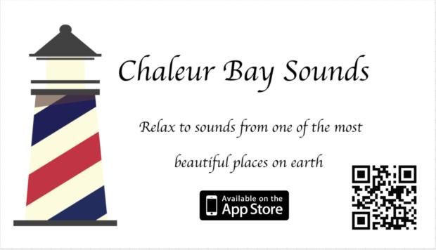 Screen Shot of Banner for Chaleur Bay Sounds